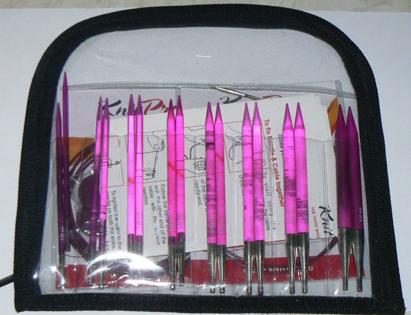 knitpro spectra flair acrylic interchangeable deluxe set